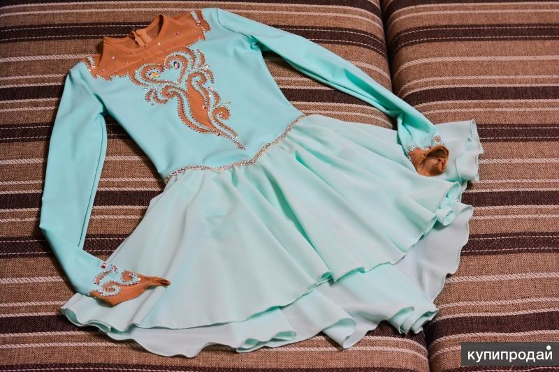 Платье для выступлений, фигурное катание, 134-146