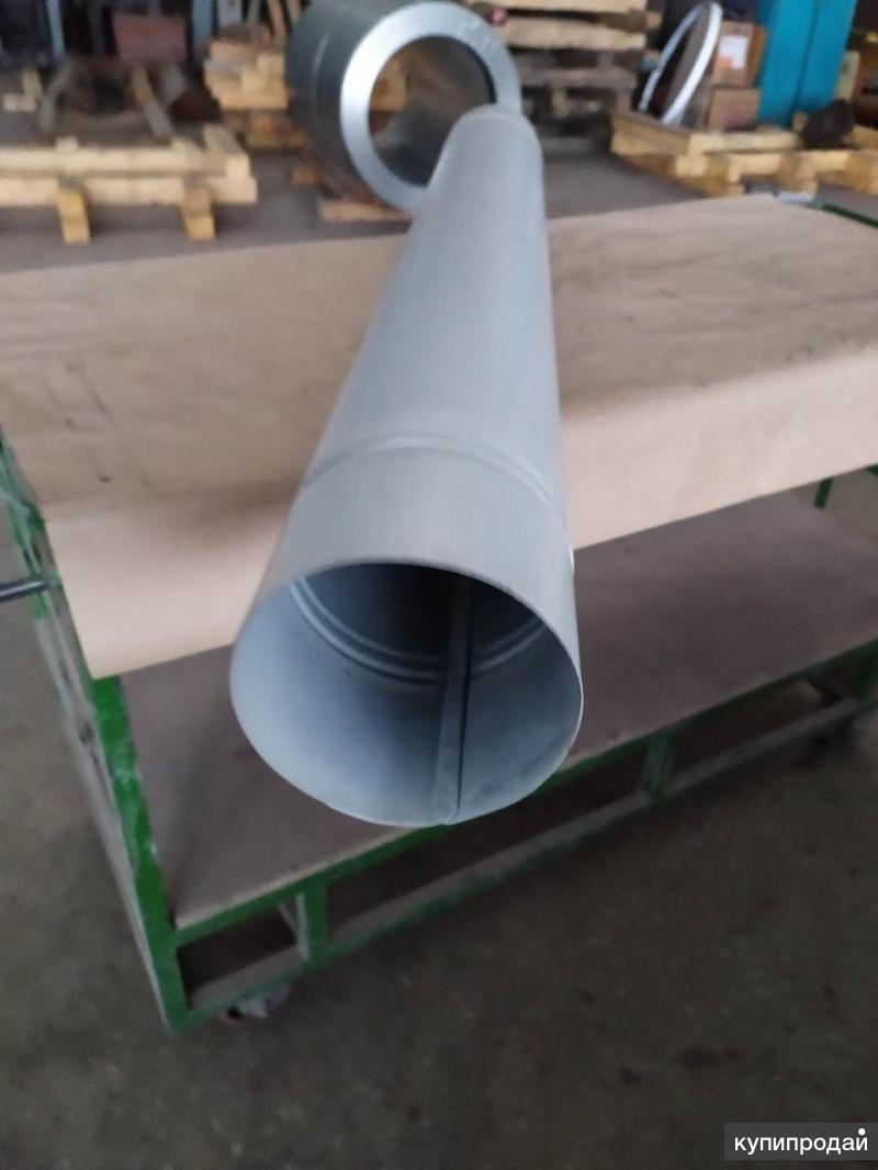 Труба водосточная окрашенная оцинкованная 150  и 120мм