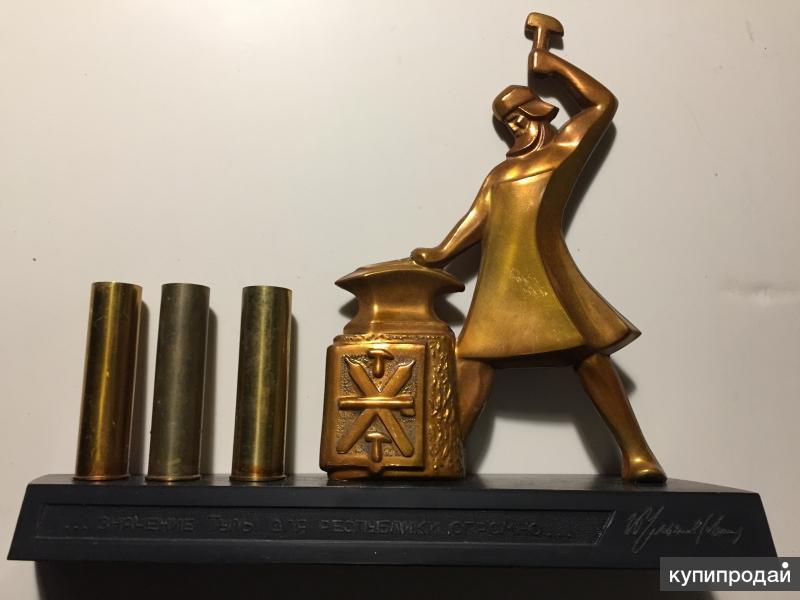 "Сувенир - подставка "" Кузнец""Тула"