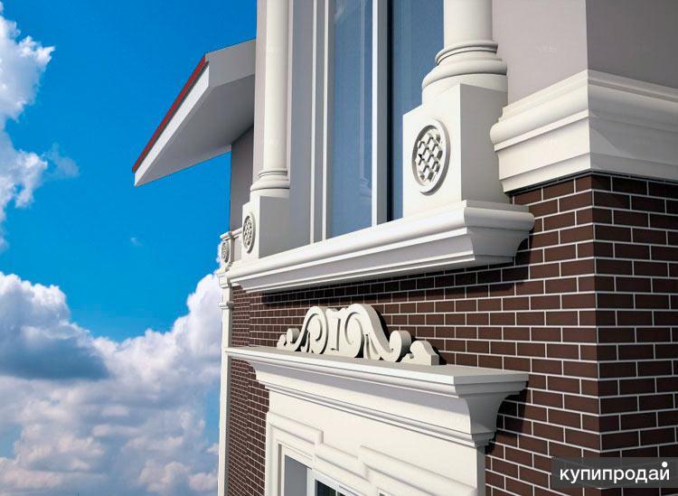 Фасадный декор - монтаж под ключ