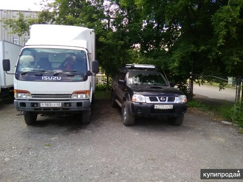 Продам японский грузовик Isuzu EIF 4wd 3т фургон 150л.с двигатепь 5.0.