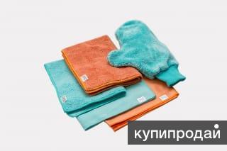 Салфетки, спонжи и варежки из набора AQUAmagic «Уют» в Казани