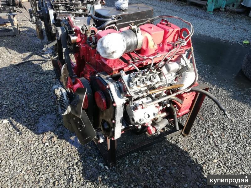 Двигатель бу ISBe140-30 Cummins 4ВТ3.9