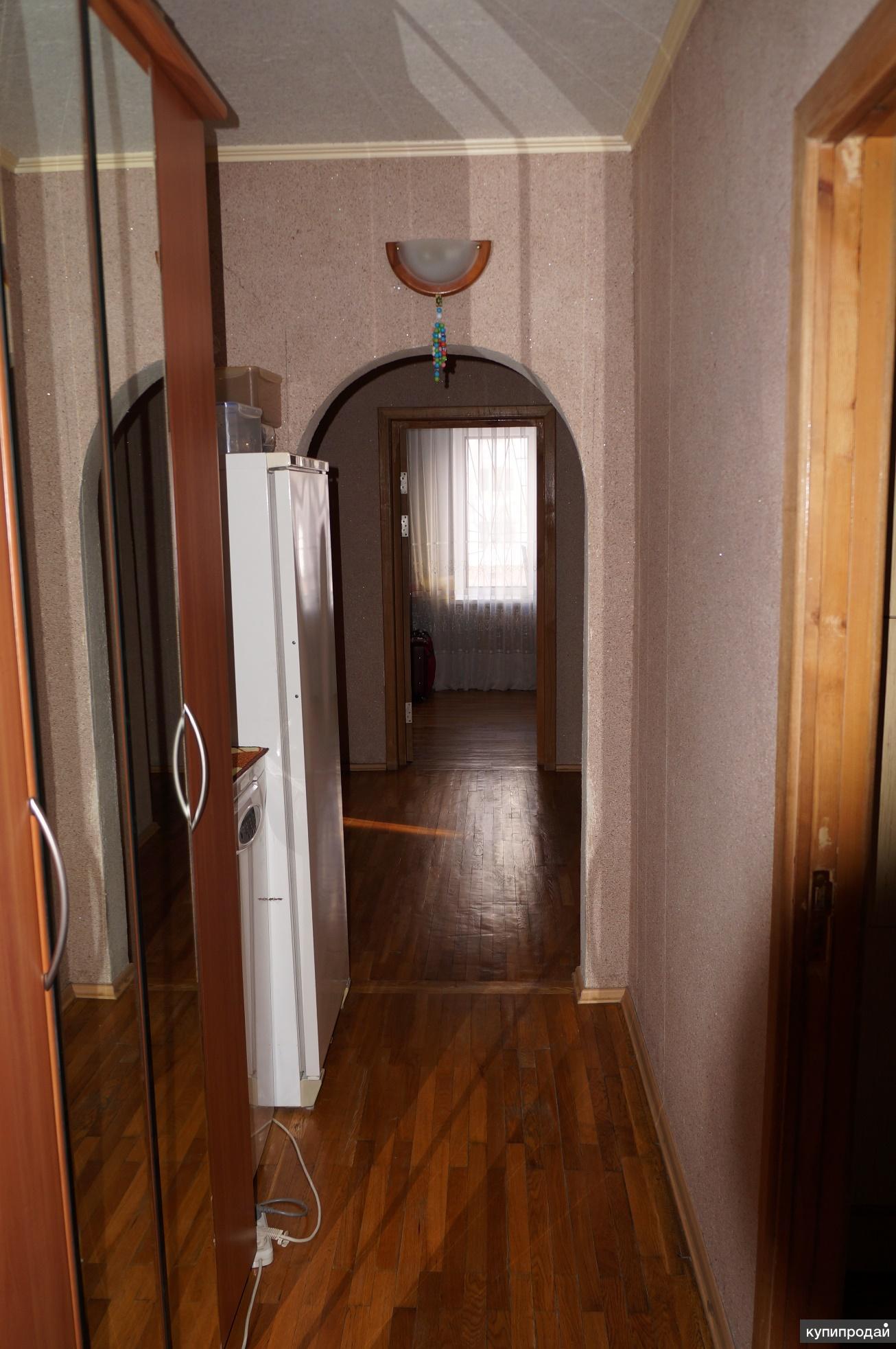 Продаётся 4-х комнатная квартира в пятиэтажном доме 92 кв