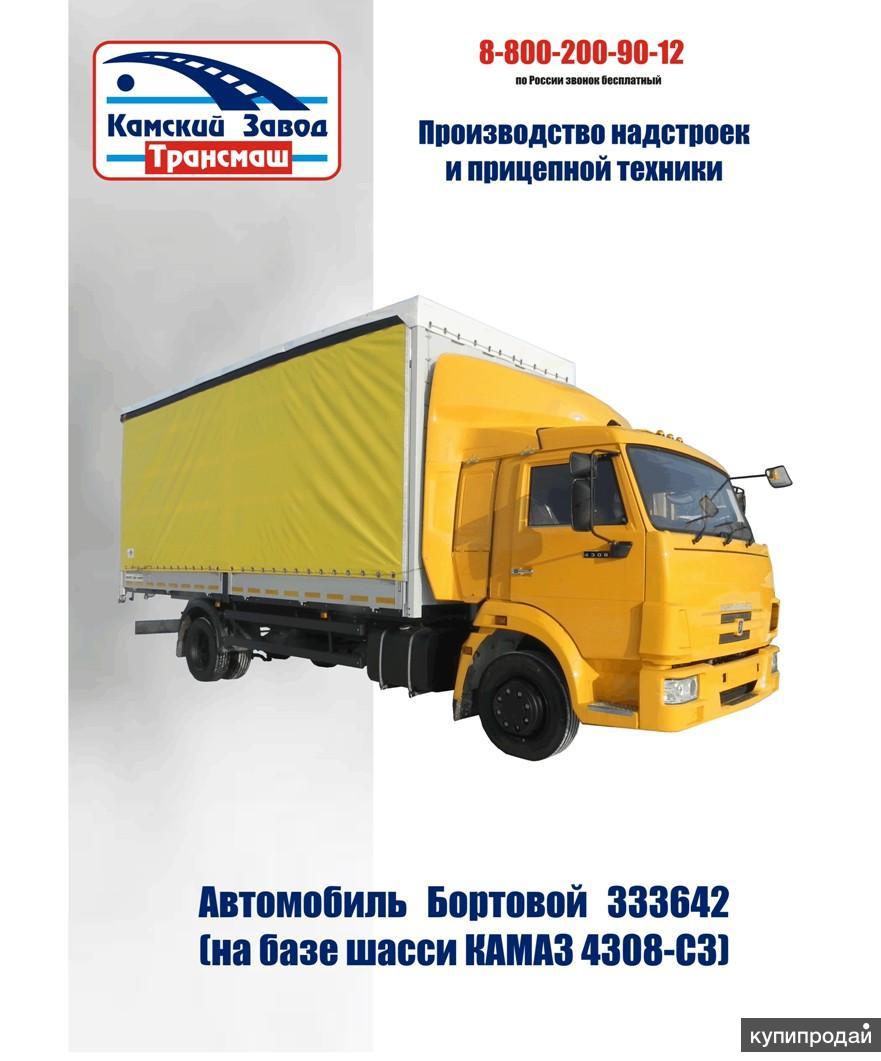Продается автомобиль КАМАЗ 4308