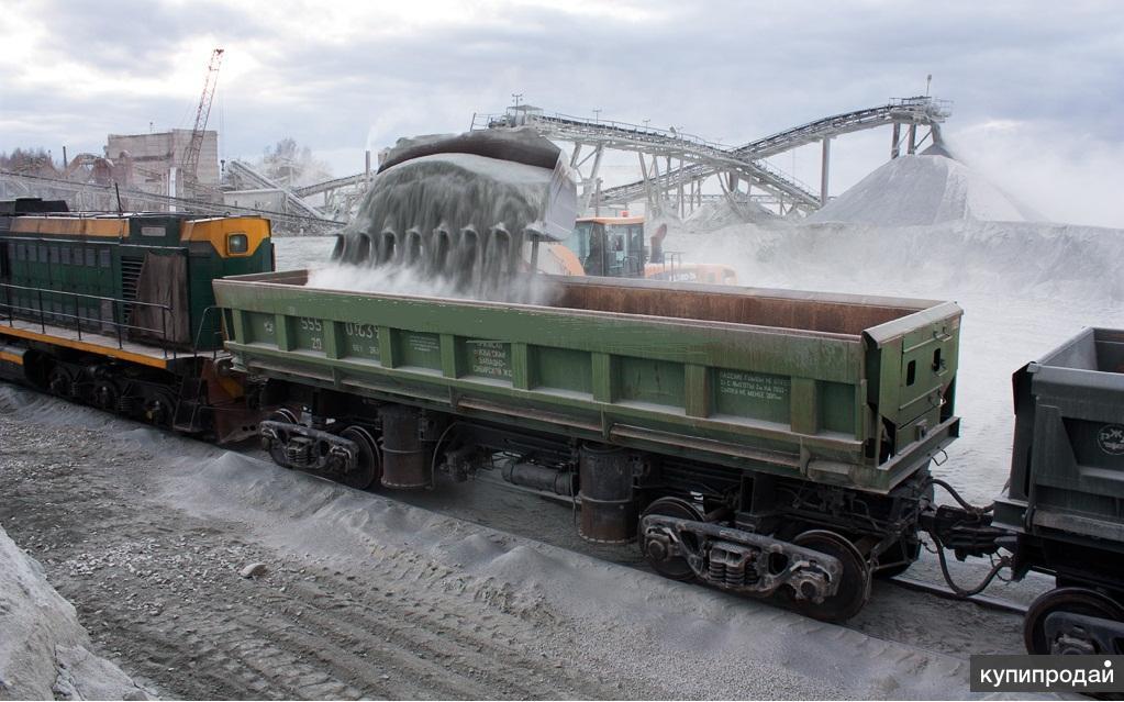 Щебень гравийный крупным оптом с поставкой по всей России.
