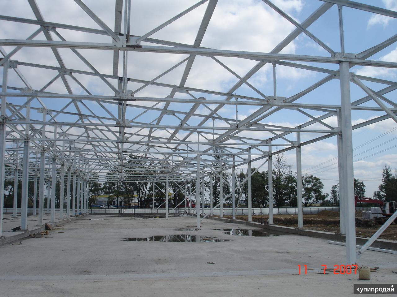 Проектирование, строительство быстровозводимых зданий