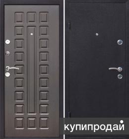 Теплые входные металлические двери