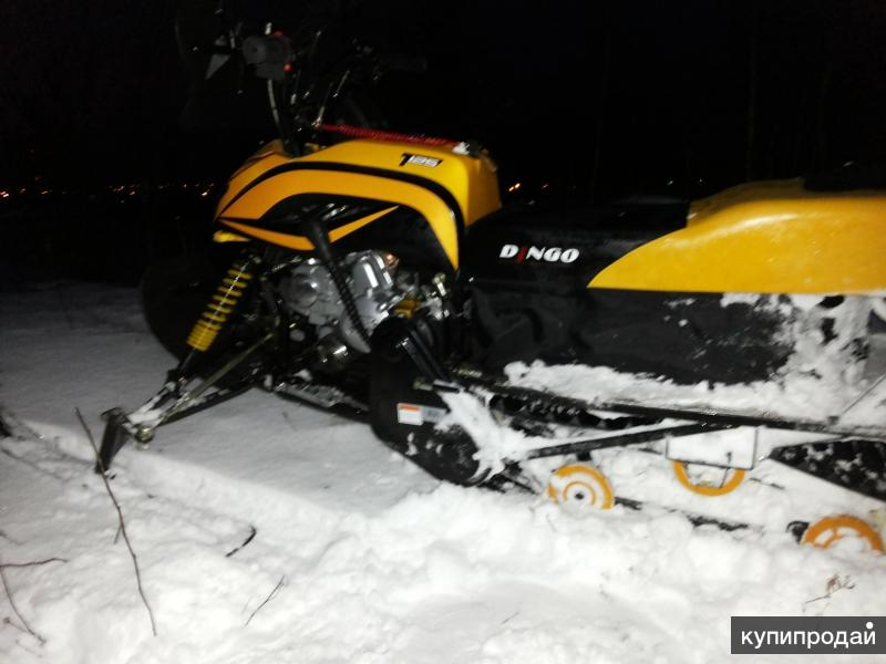 Снегоход Динго т 125 люкс.