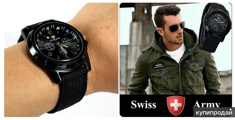 мужские часы swiss army аромат