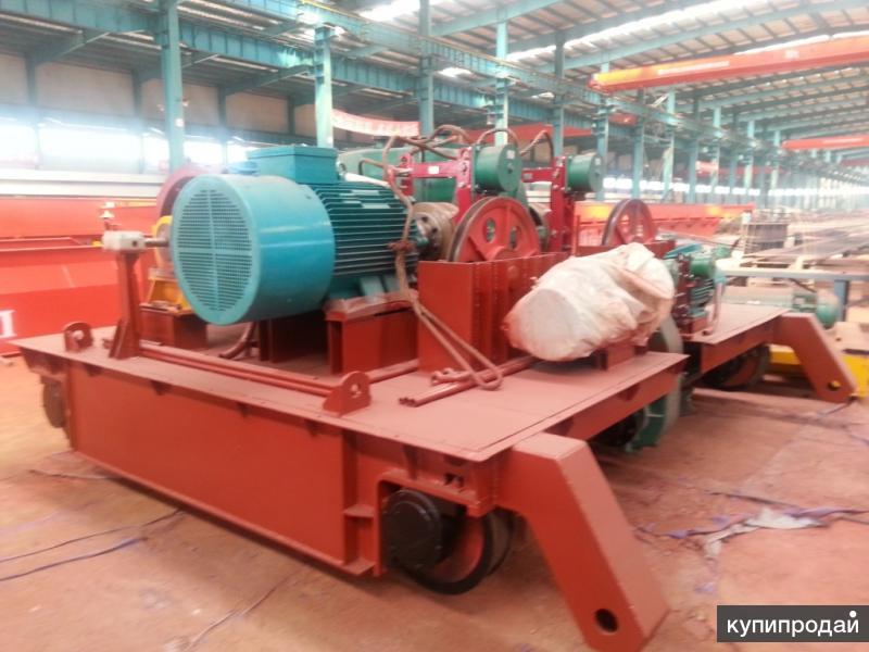 грузовая тележка для козлового крана г/п 35 тонн