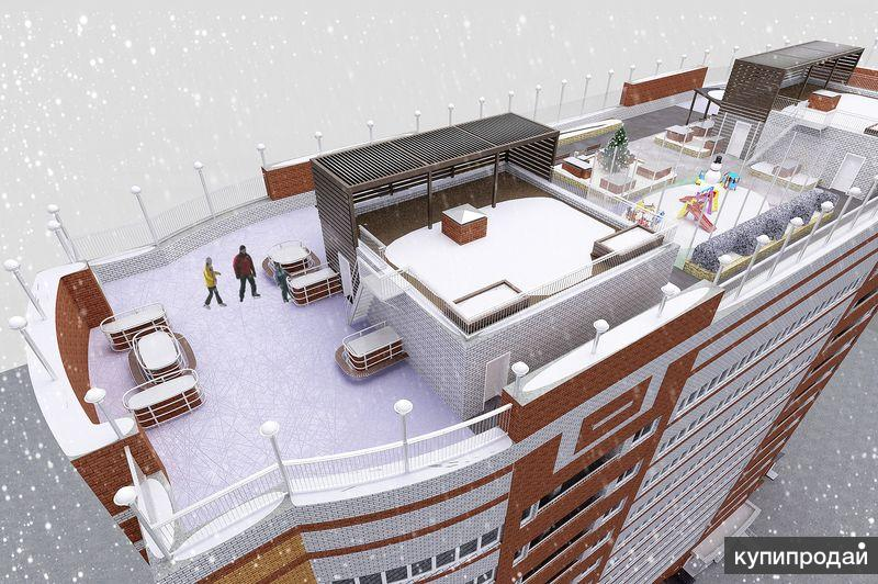 Большая трехкомнатная квартира в Барнауле