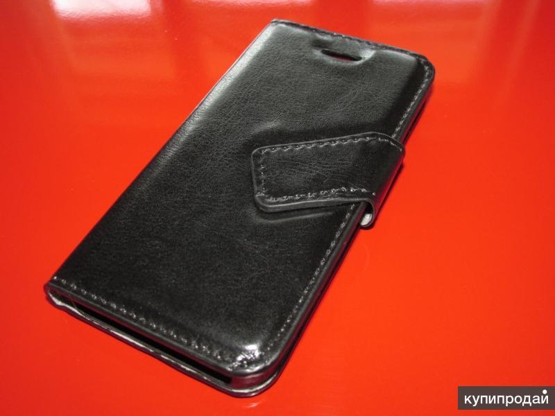 Черный чехол книжка case для apple iphone 5/5S