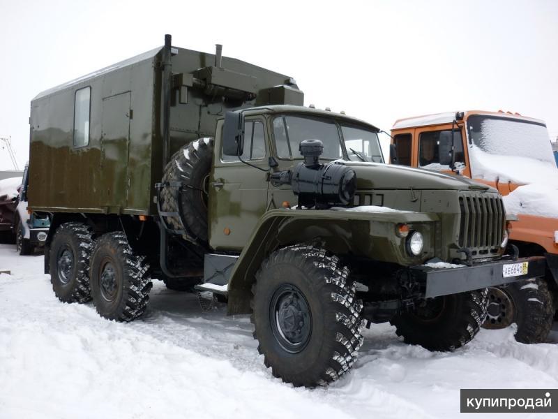 Собственное производство автомастерских и фургонов на шасси УРАЛ и КамАЗ