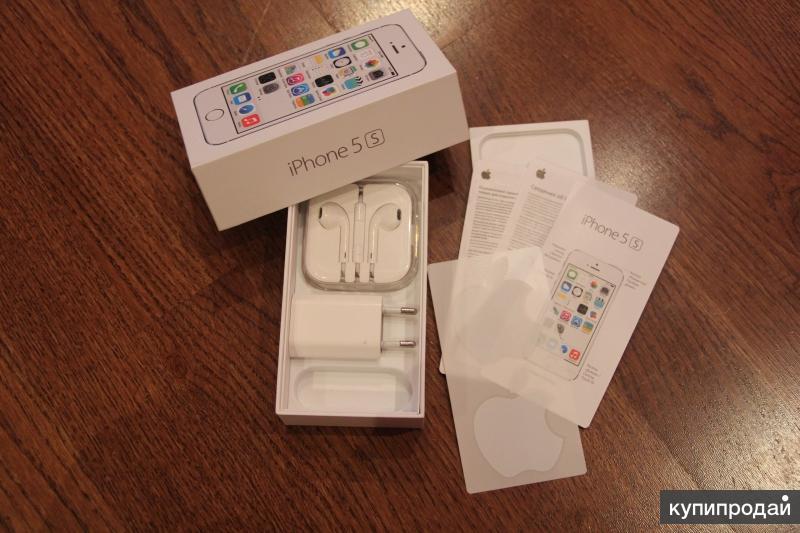 Продажа iPhone 5s 16Gb silver
