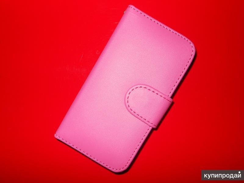 Чехол case книжка Розовая для iphone 4/4S