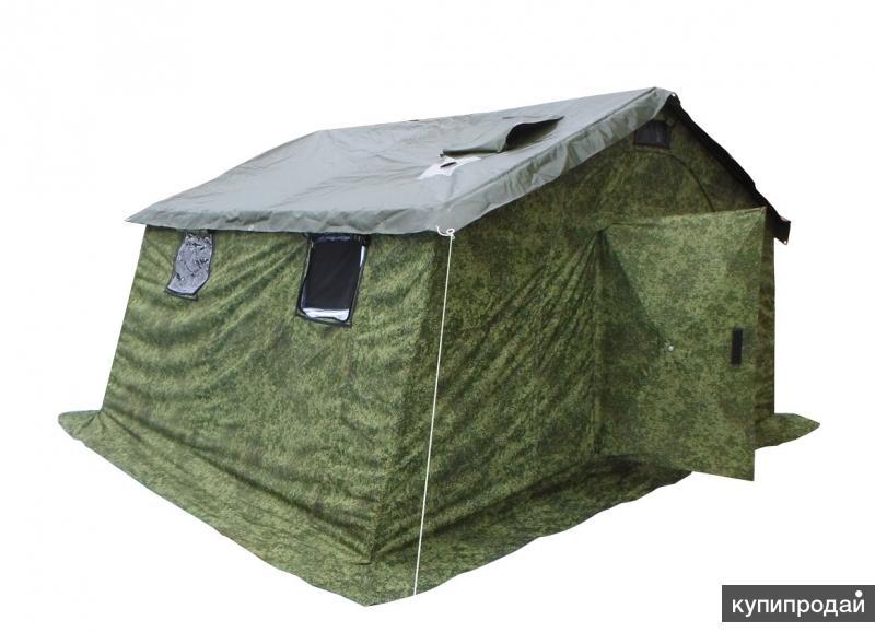 Каркасная палатка 5м2 (двухслойная)
