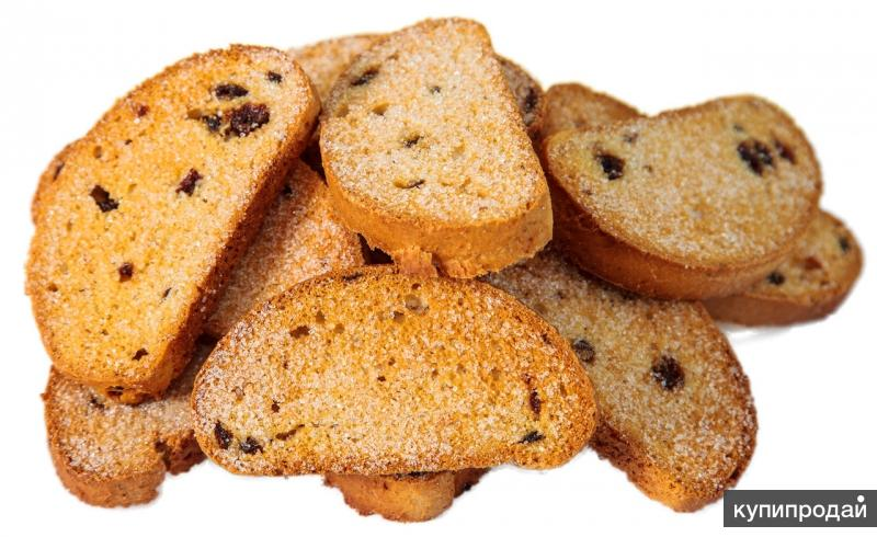 Сушки,сухари,баранки,овсяное печенье от производителя