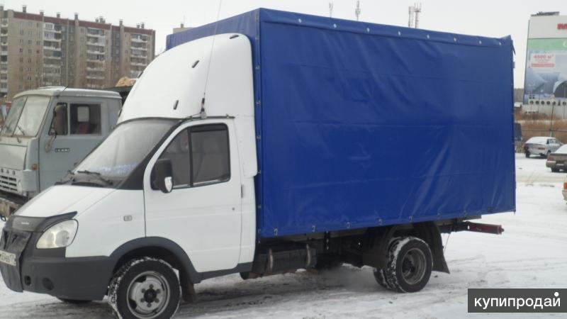 Грузоперевозки Газель 4-мет. тент 18 куб. межгород