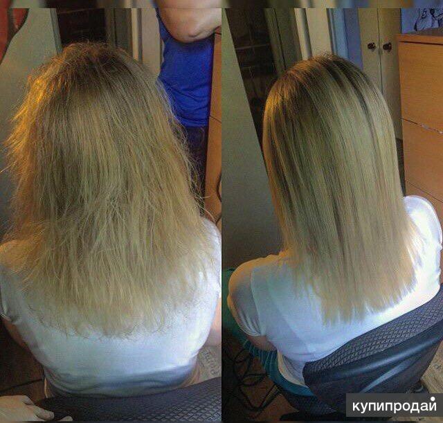 Кератиновое выпрямление и восстановление волос cocochoco