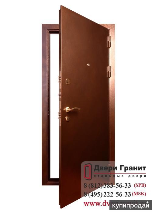 стальная дверь из одного листа