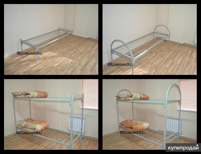 кровати металлические от производителя по низким ценам
