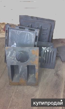 Печное литье из чугуна, колосники, плиты, решетки, дверцы, конфорки.