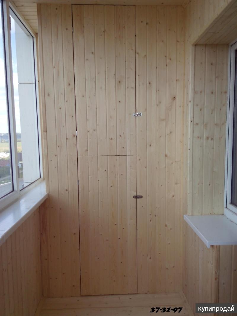 Обшивка балкона вагонкой в саранске за 1 день! саранск.