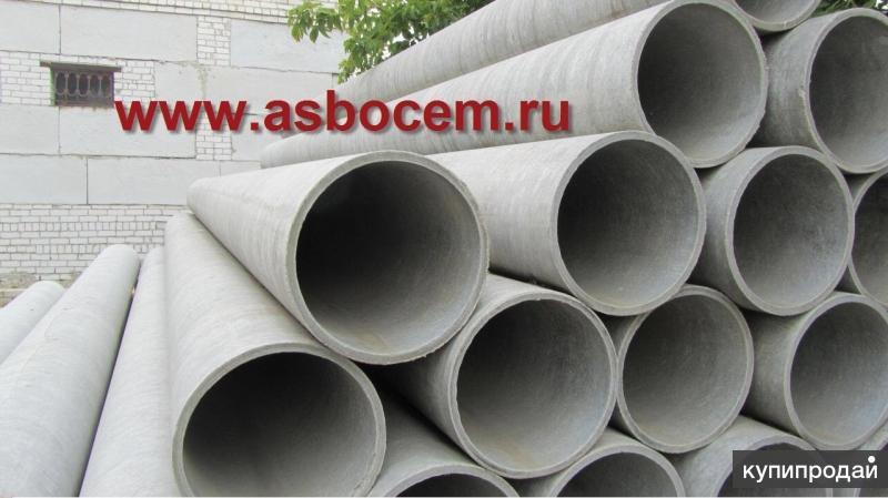 Труба асбестоцементная диаметр 100 мм, длина 3.95м