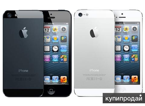 iPhone 5 16GB/32GB Black /White Восстановленные