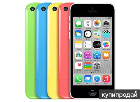 iPhone 5с 16GB Все цвета, Восстановленные