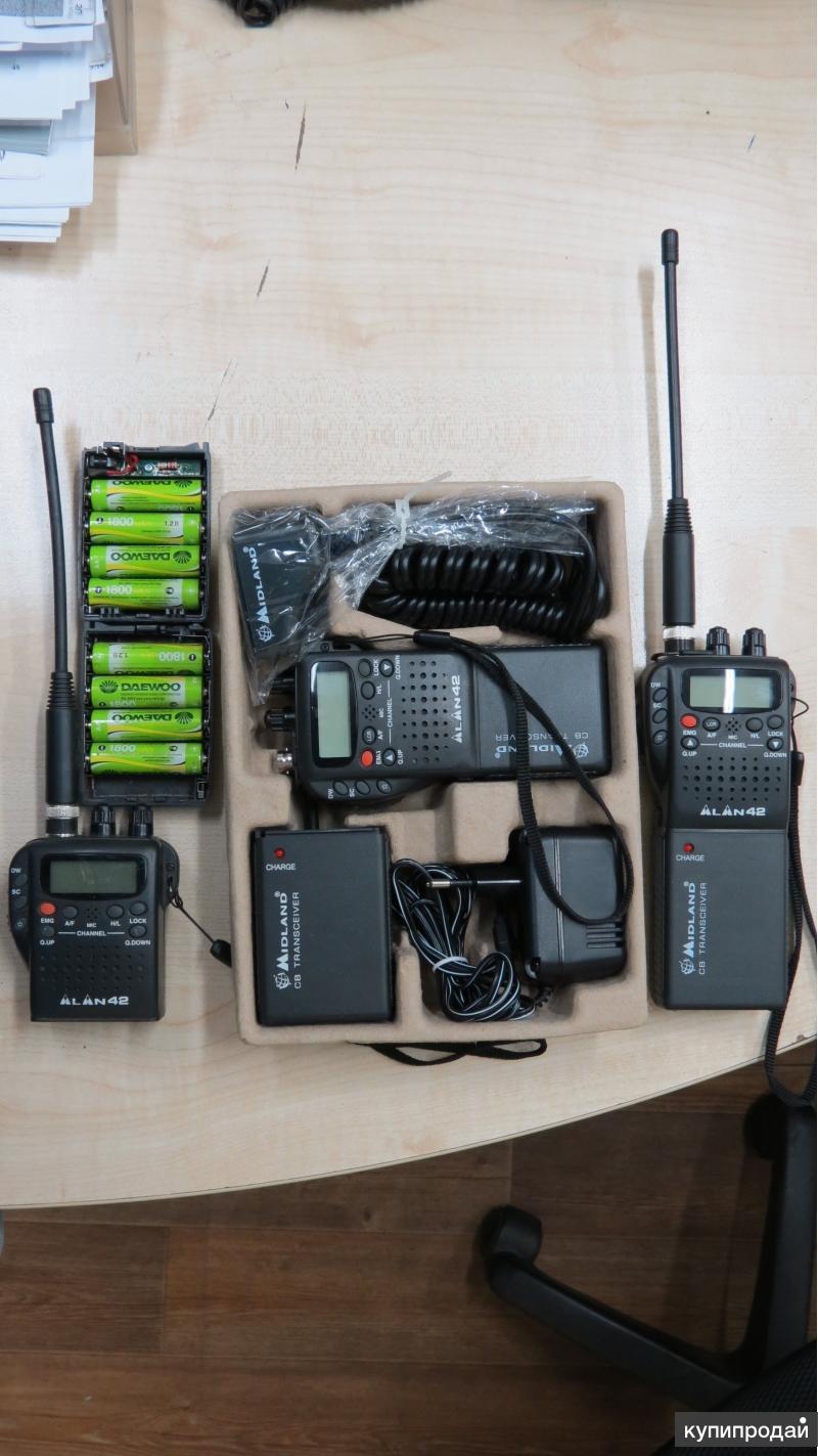 Портативная CB радиостанция alan 42