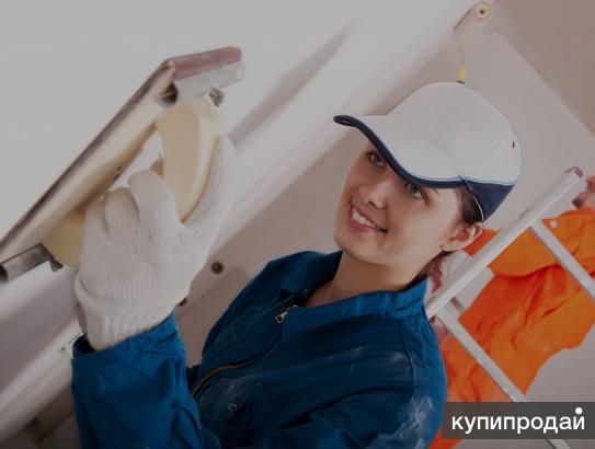 Приглашаем отделочников (муж.жен) для работы в Санкт-Петербурге.