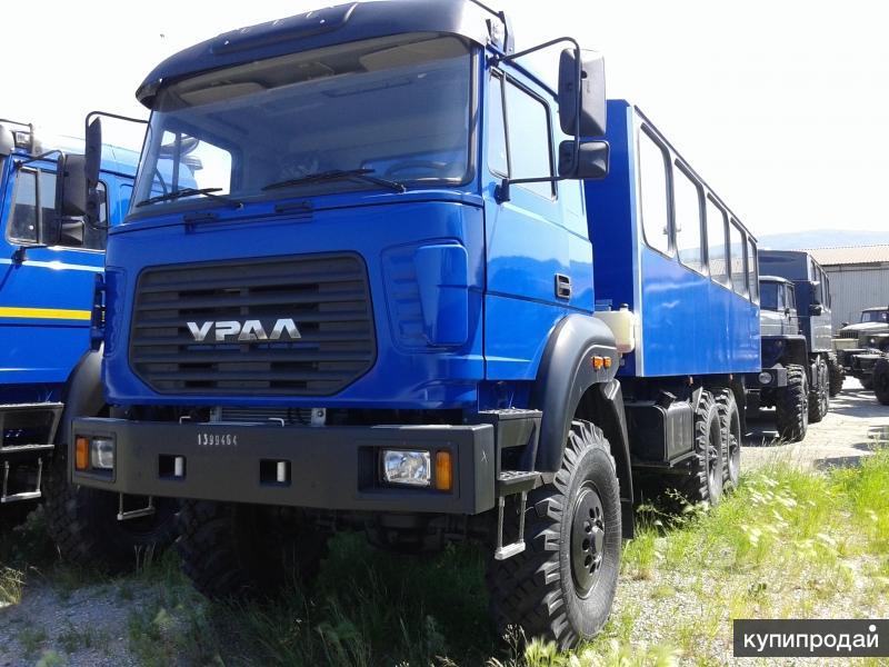 Заводские вахтовые автобусы Урал от завода изготовителя