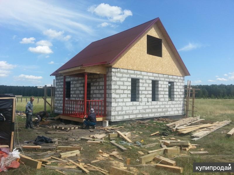 Cтроительство малоэтажных зданий под ключ в г. Кургане и Курганской области