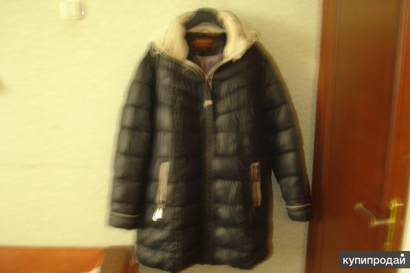 новая зимняя куртка размер 64