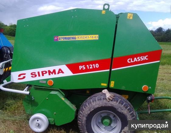 Рулонный пресс sipma PS 1210 classic plus
