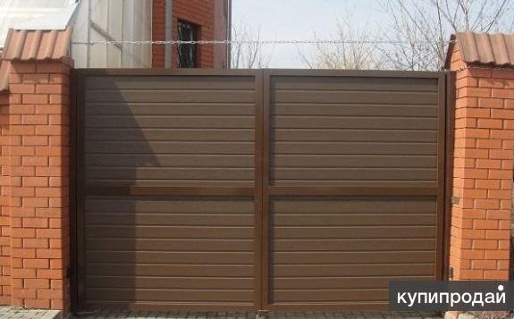 Распашные  ворота  «Алютех» (Белоруссия) ADS 400