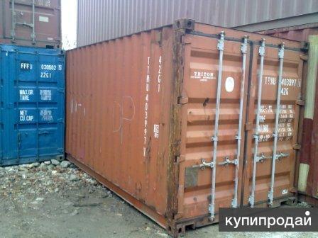 20ф 6м контейнер грузовой перевозки б/у