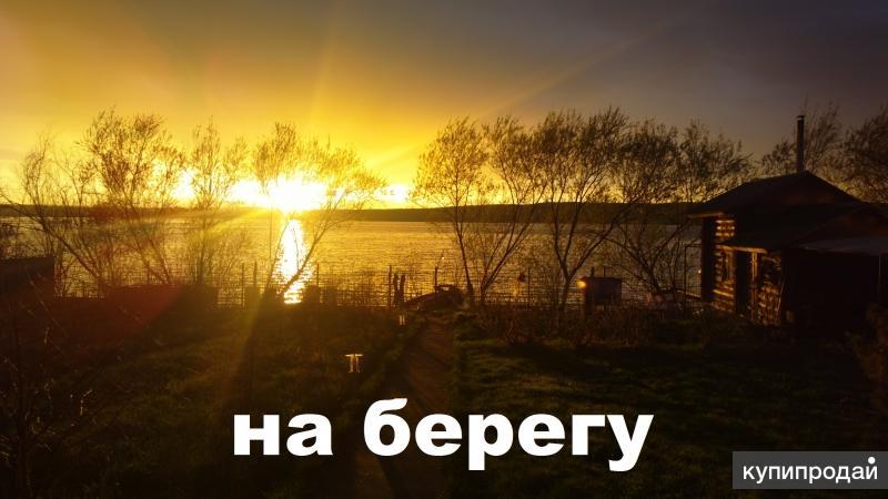 Финский коттедж на берегу водохранилища Чусовой