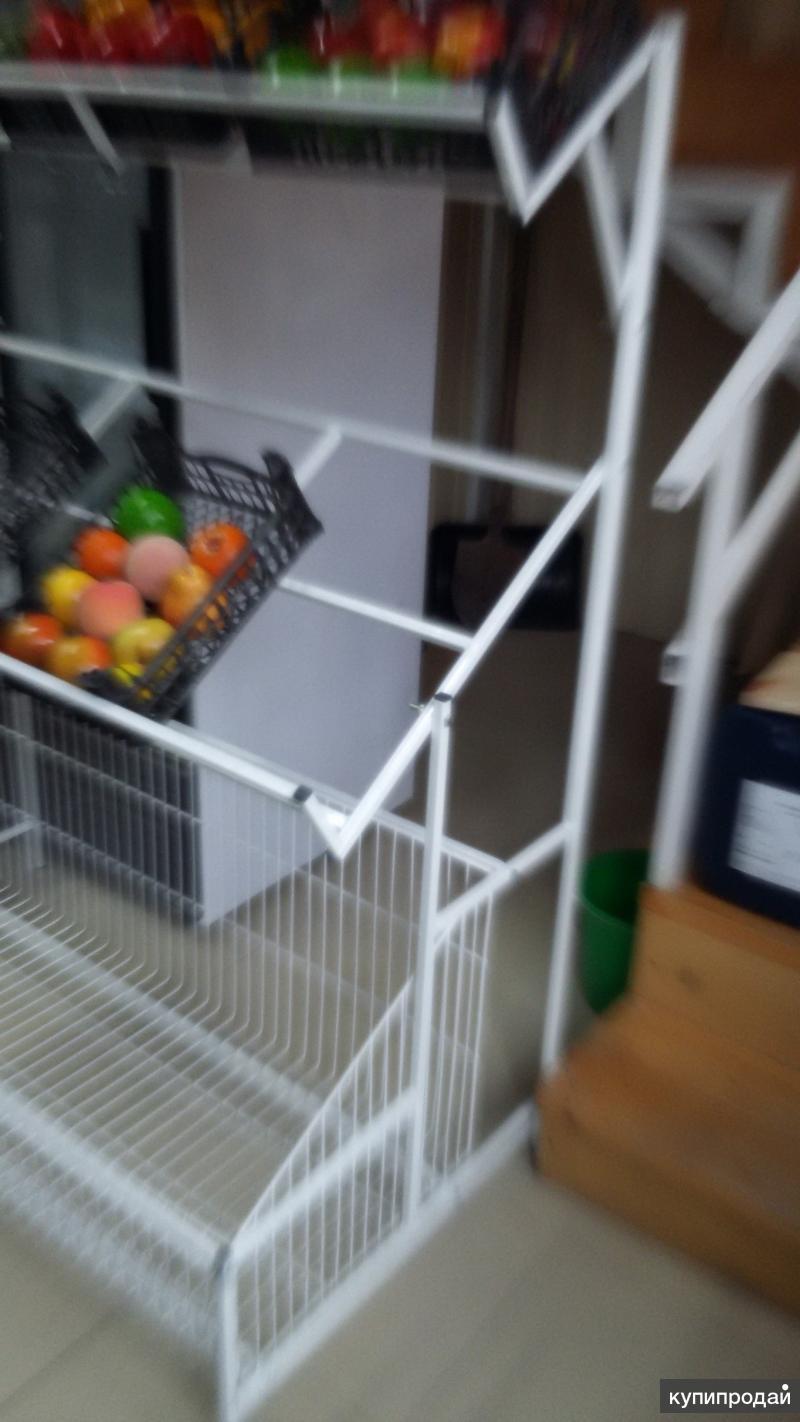 Стеллаж для презентации фруктов и овощей