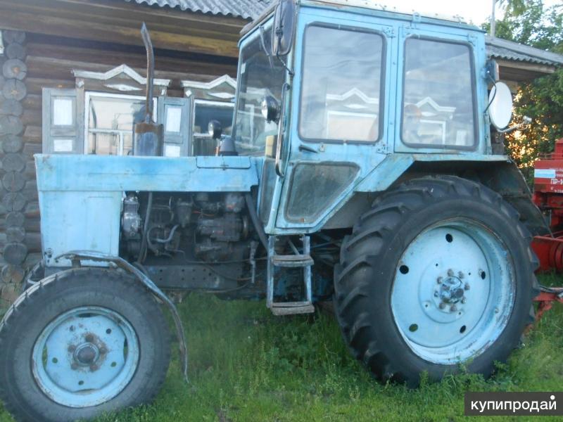 Продам трактор мтз 80 1993гв