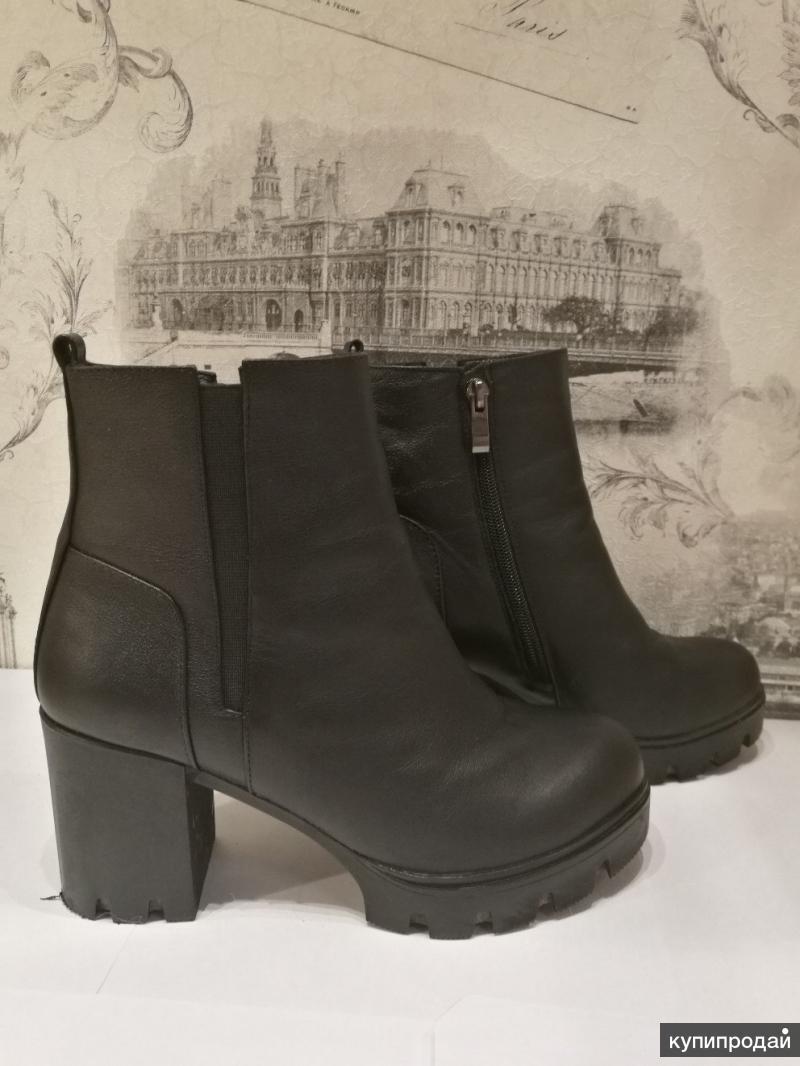Новые женские зимние ботинки, нат. кожа и нат. мех