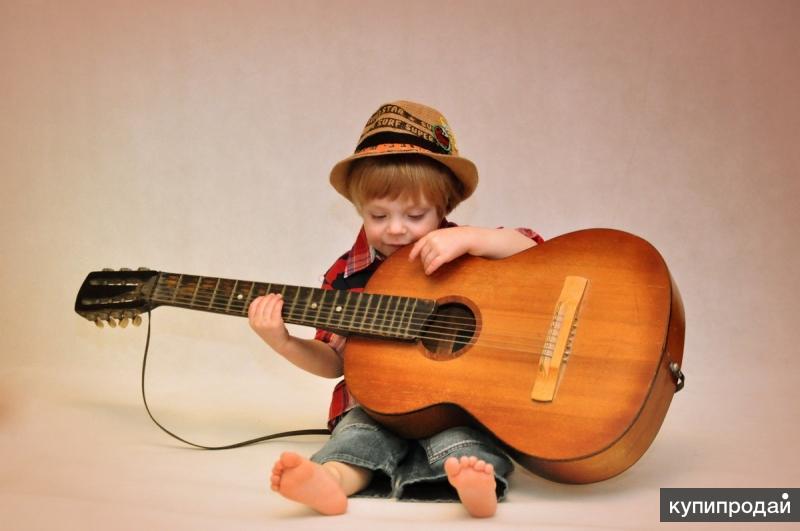 Картинки с гитарой для детей