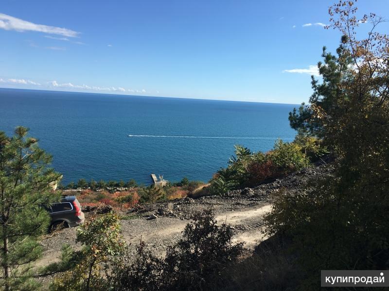 Шикарный участок в Крыму (Алушта) под строительство дома, 200 м до моря