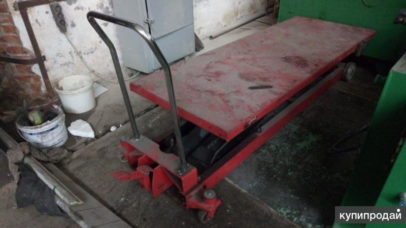 Продам подьемный стол гидравлический, передвижной