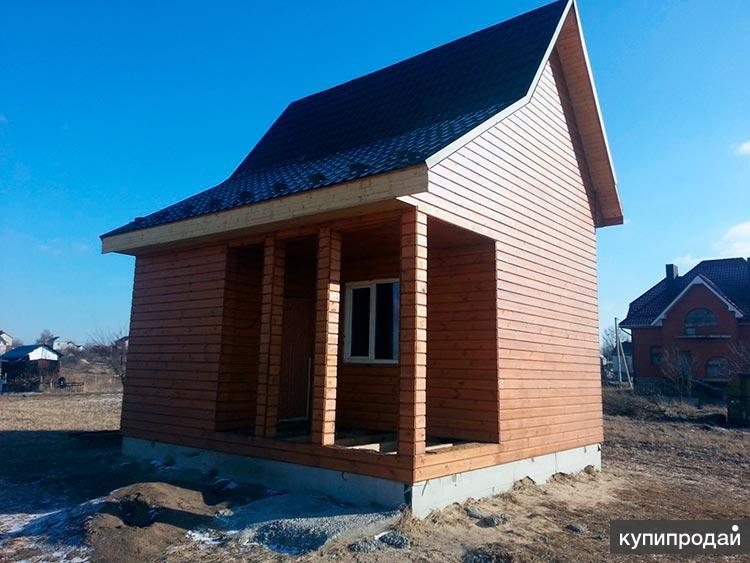 Дачный домик под ключ недорого на участок 6 соток в Пензе