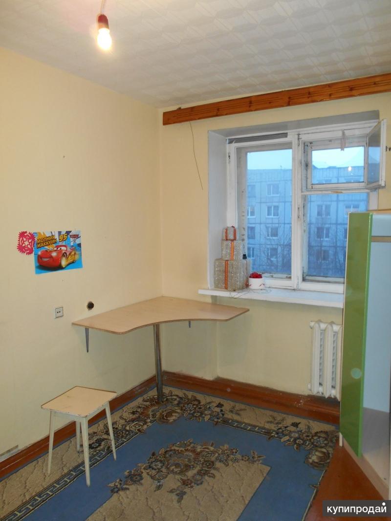 3-к квартира, 54 м2, 4/5 эт.
