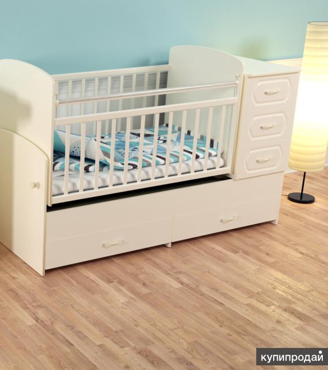 Кроватки-трансформеры. Модель 02
