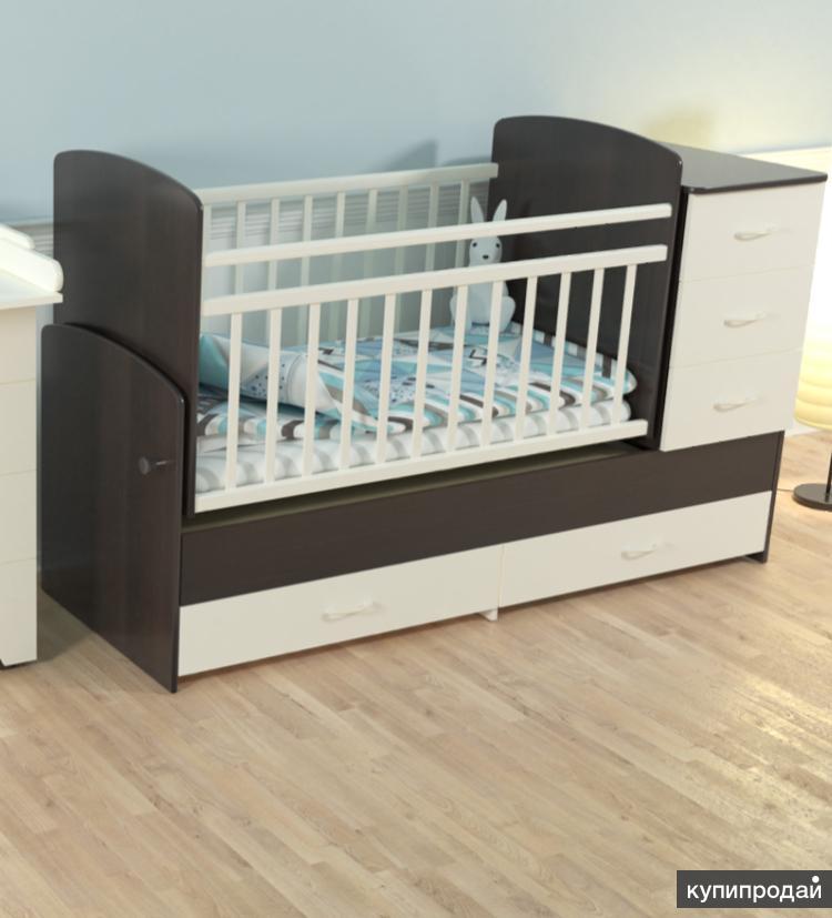 Кроватки-трансформеры. Модель 01